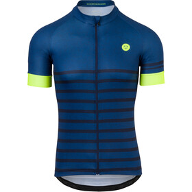AGU Essential Melange SS Jersey Men, rebel blue